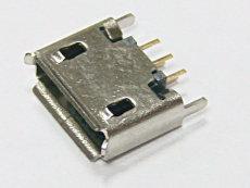 micro USB 5P180度直插