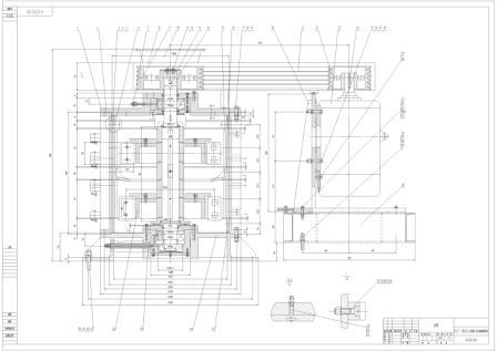 plf立轴细碎破碎机图纸_皓宇机械通用技术工作室_中科图片