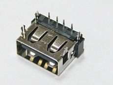 供應usbAF 90度10.6四腳魚叉無卷邊膠芯反向