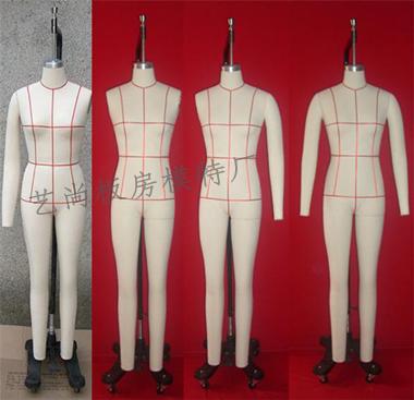 国标码板房模特打板制衣模特