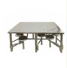 不銹鋼餐桌 不銹鋼餐具桌