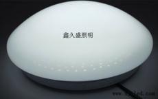 鑫久盛12W全白橢圓LED吸頂燈