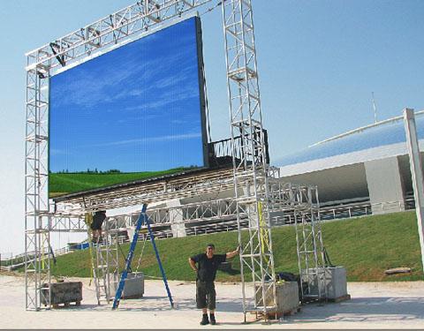 東莞戶外廣告led顯示屏圖片