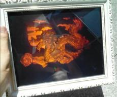 激光三维立体3D全息工艺品中国龙