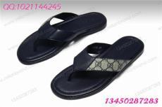 9423 真皮沙灘拖鞋 新款雙G男鞋