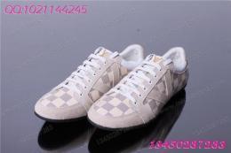0757 lv新款时尚潮流休闲鞋 格子LV男鞋