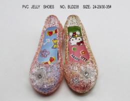 水晶鞋 果冻水晶鞋 PVC水晶鞋 揭阳鞋业