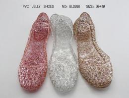 果冻鞋 果冻网鞋 水晶网鞋果冻鞋