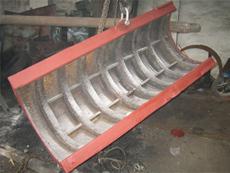 钢板 烧结机高温矿料溜槽钢板