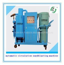 环保自动循环回收式喷砂机厂家