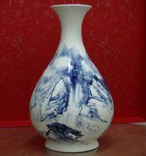 紅釉玉壺春瓶