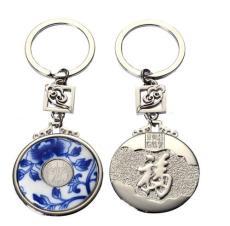 青花瓷钥匙扣广州订做亚克力钥匙扣珠海