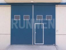 合肥文大厂房平移门 开启方式有手动或电动