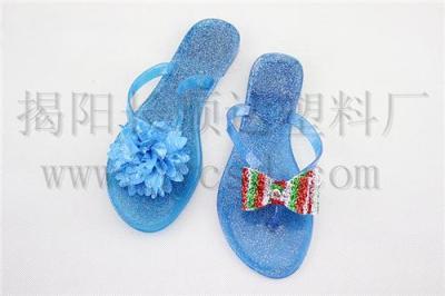 外贸pvc拖鞋/pvc女拖鞋/塑料女拖鞋