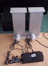 竹节式同步升降器 同步电动推杆 升降立柱