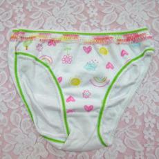 827女童可愛印花內褲