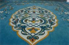 深圳地毯廠的羊毛手工地毯