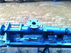 G型單螺桿無脈動物料泵