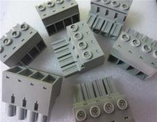 大电流灰色端子台10.16mm间距 PCB插拔型