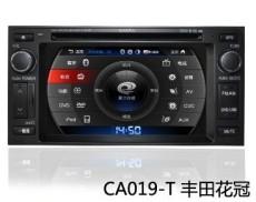 郑州丰田花冠DVD声控导航卡仕达导航ca019-T