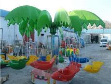 广场12座儿童电动旋转小飞椅飞鱼厂家