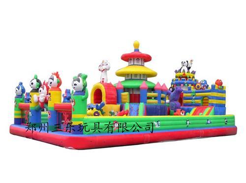 儿童大型充气城堡游乐场