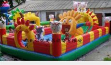 喜羊羊城堡全国热销儿童充气蹦蹦床款式