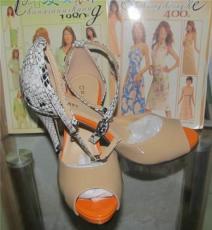 小批量定制时装高跟鞋工厂
