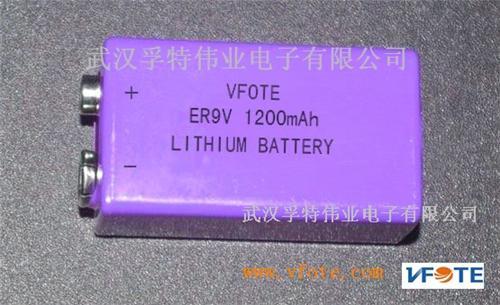 烟雾报警器专用瑞孚特er9v/cr9v锂电池图片