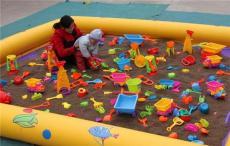 儿童充气沙滩池陆地充气闯关城堡大滑梯厂家