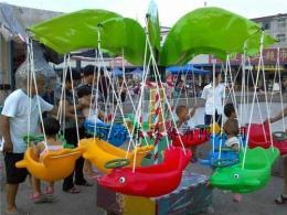 广西旋转小飞鱼价格 儿童飞碟转椅