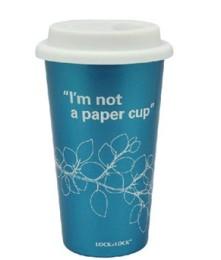 乐扣乐扣不锈钢双层ECO环保杯