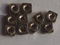不銹鋼四方螺母