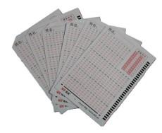 南昊課堂測評儀專用答題卡