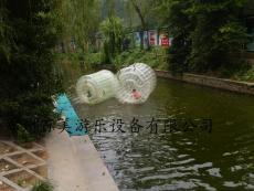 加厚透明水上滚筒/水上游乐设备厂家