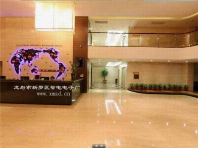 酒店大堂装修LED电子屏