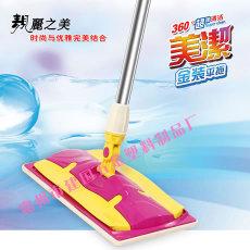 不宜用濕拖把處理地板上的灰礫