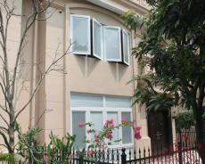 帝贝斯高档白色平开别墅门窗 铝合金门窗