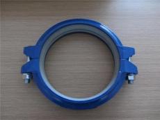 矿用沟槽卡箍DN200- 219MM铸铁拷贝林