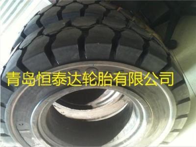 铲车实心轮胎7.50-16