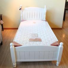 天禾美家 實木兒童床 白色